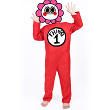 New Halloween Carnival Christmas Costume Cosplay costume Childrens Size Clown Red Baby Clothing