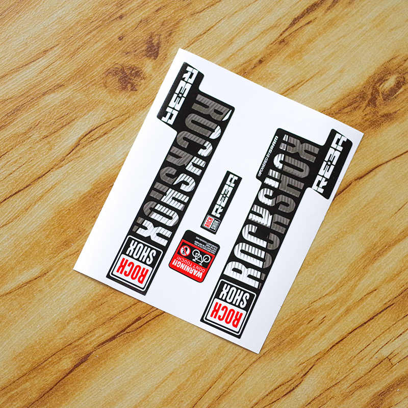 RockShox REBA Fork Frame Big Decals Stickers Kit Rock Shox MTB