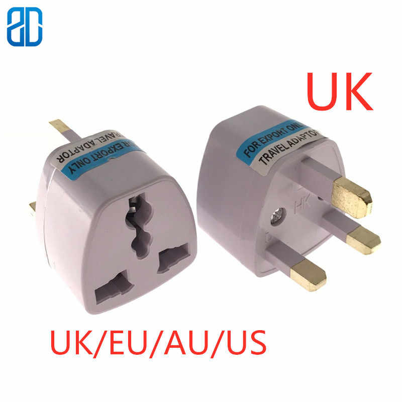 1PC Universele EU ONS UK Au UK Britse Plug Travel Muur AC Power Charger Outlet Adapter Converter 3 ronde Pin Socket 13A