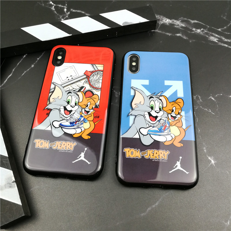 Animation Tom Jerry Soft Phone Cover Case For Iphone X Xs