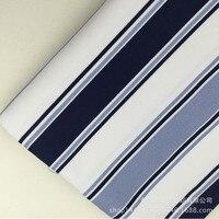 블루 스트라이프 캔버스 인쇄 캔버스 천 홈