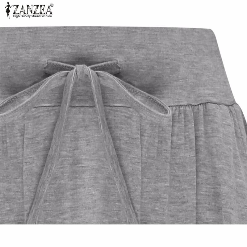 Γυναικεία μακριά κλος φούστα ZANZEA – Reparo dfcbd74f436