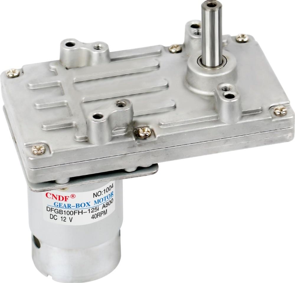 ФОТО DFGB100FH-76.5i  Eccentric Shaft 24V 80RPM 1.17A 17N.m Game Machine Motor Reduction ratio 76.5 :1 Permanent Magnet DC Gear Motor