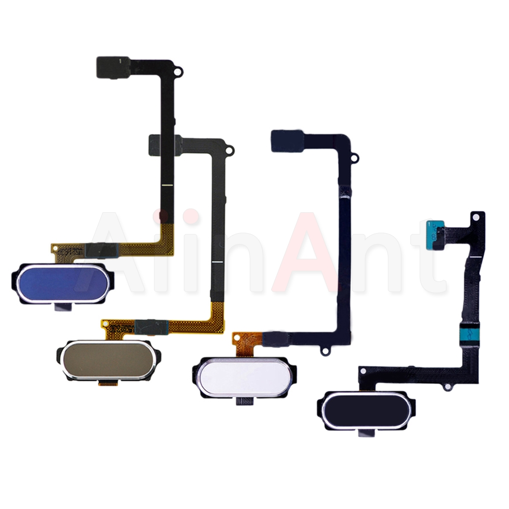 Original Home Button Fingerprint Sensor Flex Cable For Samsung Galaxy S6 G920f S6 Edge Plus G928f G925F Home Flex