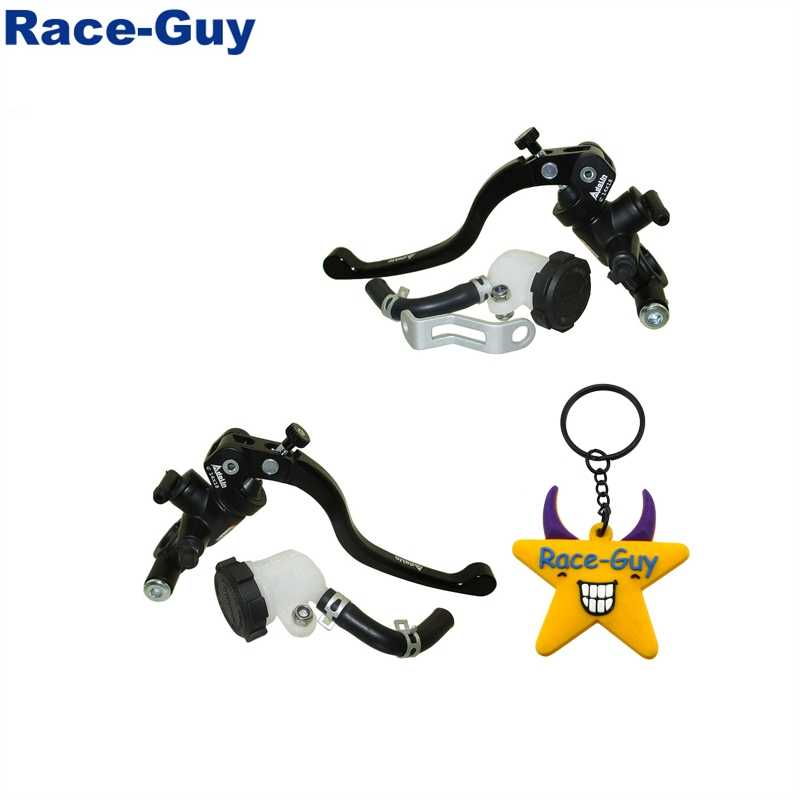 STONEDER 14x18 Right Racing Adelin Hydraulic Brake Master Cylinder Lever For Pit Dirt Bike Moped Scooter Motorcycle