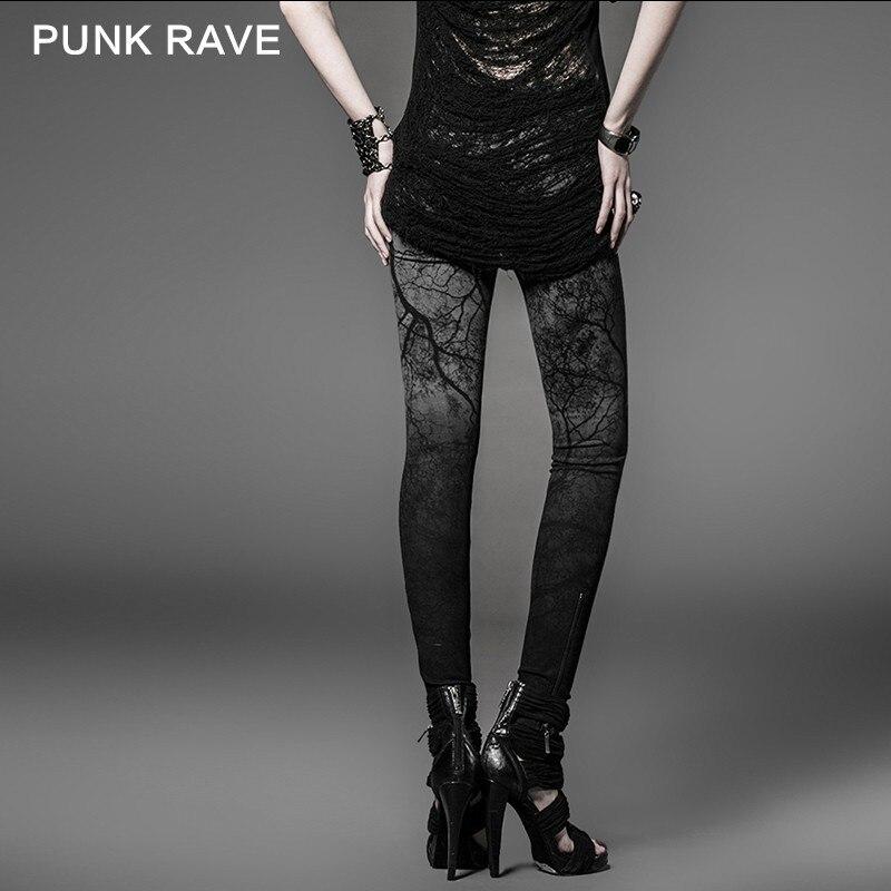 Les Punk K Vente De Rave Dames Top Avec Branches 181 Suspendu Couleur Pantalon Collants qtT4Ut