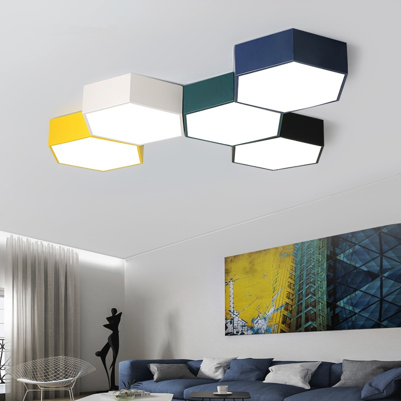 LED Ceiling lights Macaron Ceiling lighting Nordic fixtures Modern luminaires bedroom illumination living room Ceiling lamps купить недорого в Москве