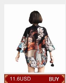 e44d4af1ef3 5011 Summer Japan Style Vintage Men Woman Kimono Blouse Long ...
