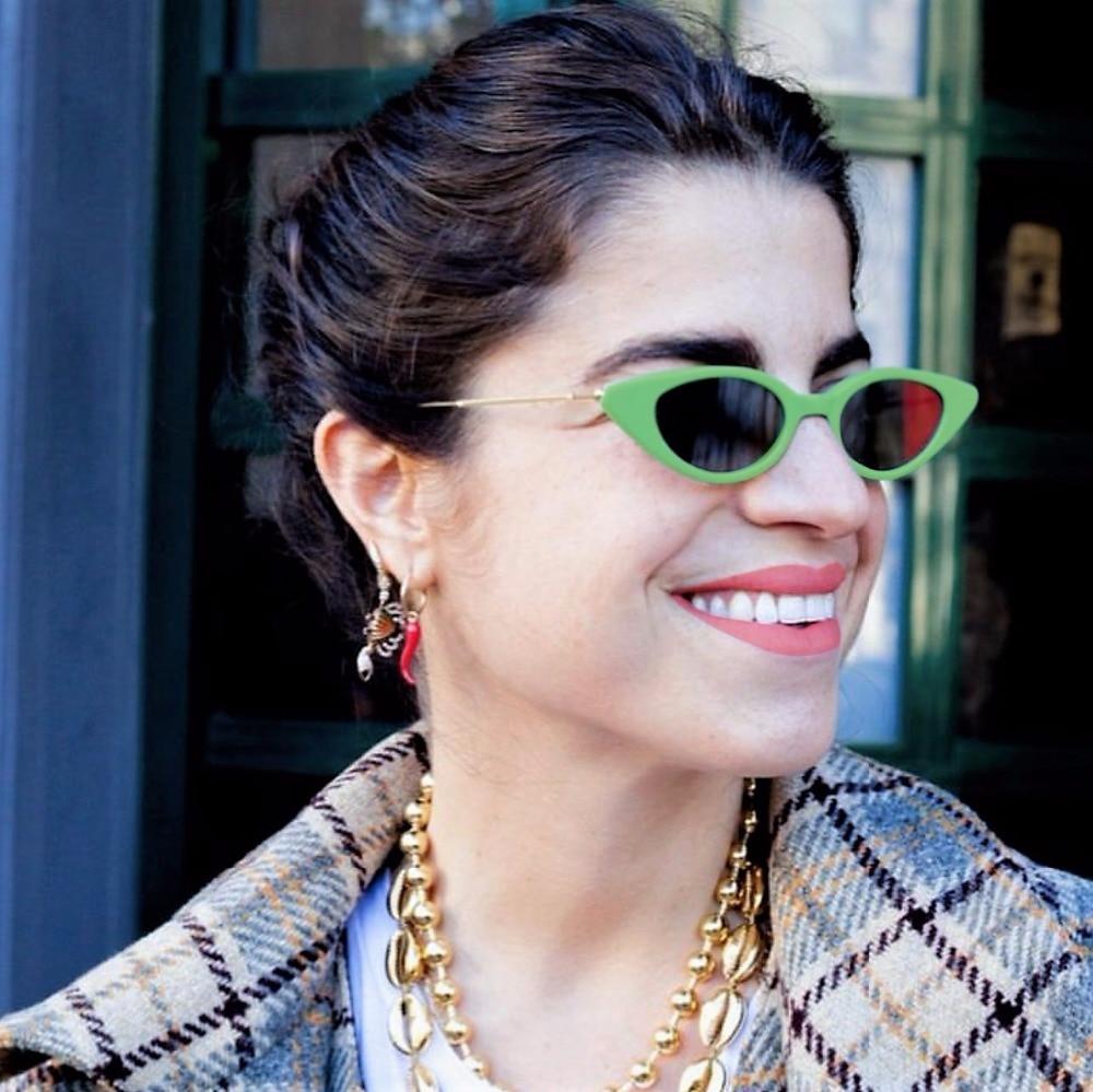 8 Colors Small Frame Oval Sunglasses Men Women Green Purple Red Brand Glasses Designer Fashion Female Shades