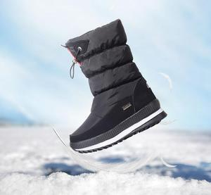 Image 4 - Classic Women Winter Boots Mid Calf Snow Boots Female Warm Fur Plush Insole High Quality Botas Mujer Size 36 40 n544