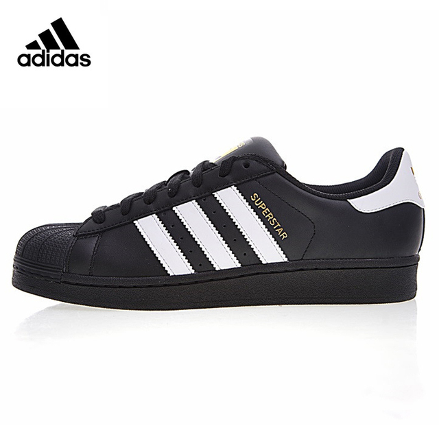 factory authentic 760dc 2b50d ... switzerland adidas clover superstar gold label shell head men and women  skateboarding shoes black non 69db8