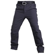 Pantaloni in pile Pantaloni Tattici Mens Pensare Militare Esercito Soft Borsette Impermeabile Pantaloni Pantaloni Termici di Inverno Pantaloni Caldi