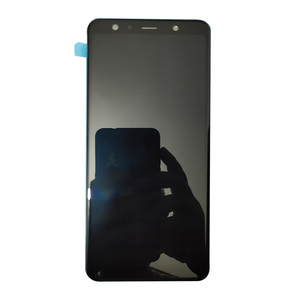 Image 2 - Super AMOLED 6.0 For Samsung Galaxy A7 2018 A750F A750G A750FN Touch Screen Digitizer LCD Display With Frame For Samsung A750