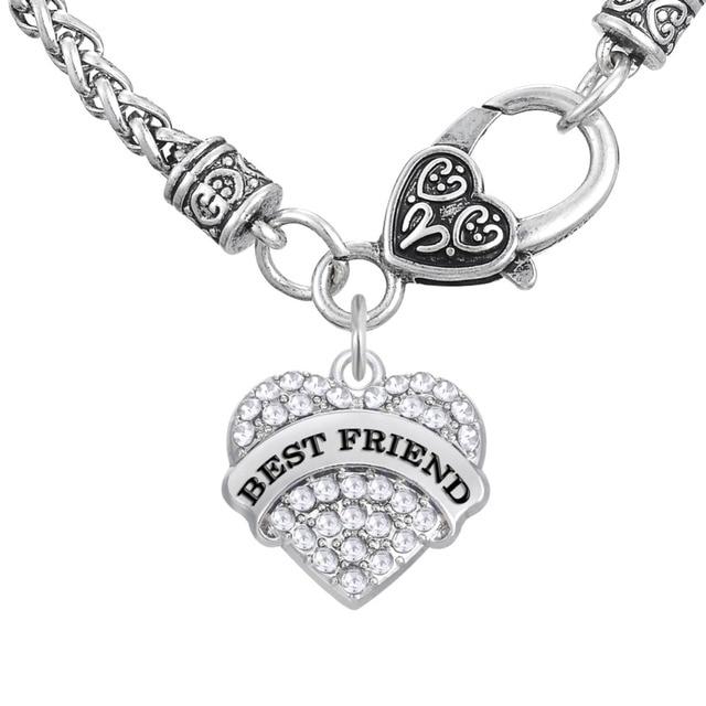 My Shape Zinc Alloy Link Chain Necklaces Symbol Of Friendship Best
