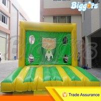ПВХ Материал гигантские надувные Футбол вытачки для спорта на открытом воздухе веселые игры с вентилятором