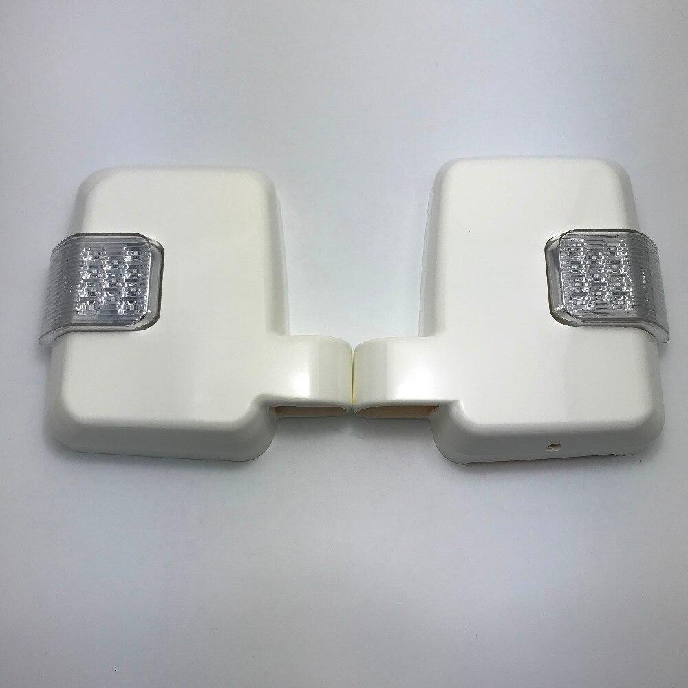 Car styling Car LED Rearview Mirror Lights For Toyota Land Cruiser 70 Series FJ70 FJ76 FJ77