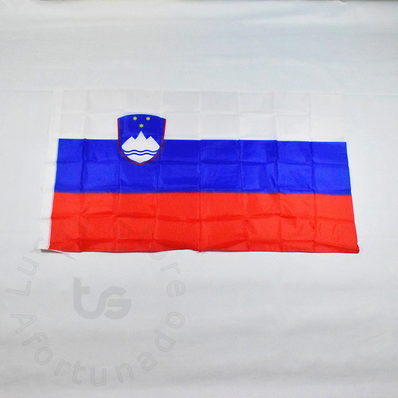 Slovėnija 90 * 150 cm vėliava Vėliava Nemokamas pristatymas Kabanti Nacionalinė vėliava Slovėnijos namų puošyba Slovėnijos vėliava