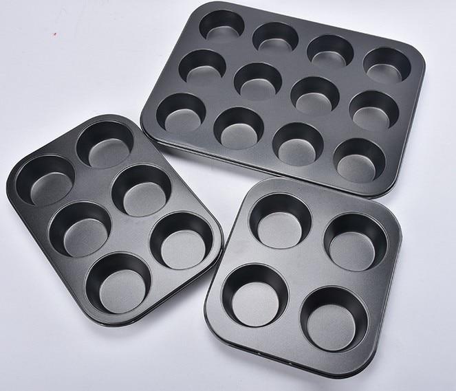1 ADET Yapışmaz Karbon Çelik 4 Bardak Bahar Formu Pasta / Kek / - Mutfak, Yemek ve Bar - Fotoğraf 3