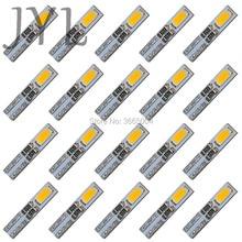 20 шт. теплый белый 3000K T5 приборная панель манометр 2-5630-SMD светодиодный светильник на танкетке