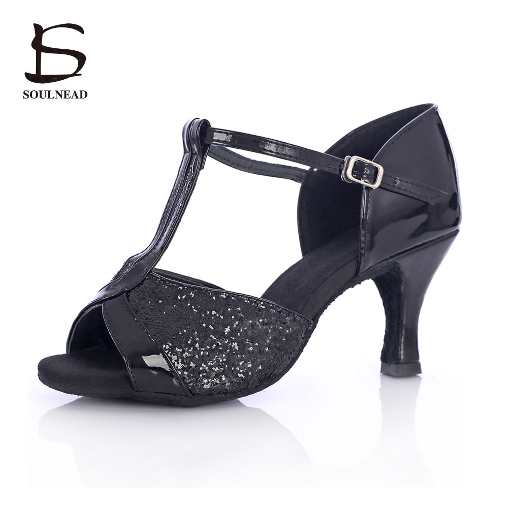 Hot Sale New Arrivals Adult Ladies Girl Ballroom Latin Dance font b Shoes b font Med