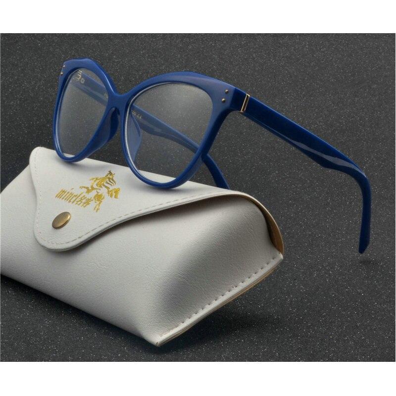 2018 Mode Lesen Brillen Optische Gläser Rahmen Neue Gläser Frauen Rahmen Ultra Licht Rahmen Klare Gläser Nx