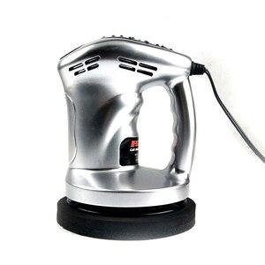 Image 2 - 12V 80W Mini Car Polisher Machine Waxing Polishing Car Paint Care Tool Polishing Machine Sander 150mm
