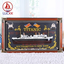 LUCKK Titanic Wall Hanging Picture 73*43 Frame With The Sailor Knot Souvenir Sea Style Home Decoration Room Crafts Free Shipping стоимость