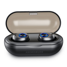Anomoibuds капсула Bluetooth наушники 5,0 TWS беспроводные гарнитуры мини наушники HiFi Звук Спорт водонепроницаемый HD микрофон громкой связи