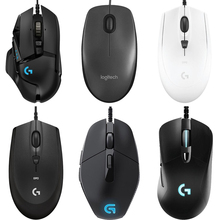 купить Logitech G502/M90/G102/M100R/G403/G402/G302/G90/MX518/G300S Hero Gaming Mouse Programmable 16000DPI RGB Game Office Mouse for PC дешево