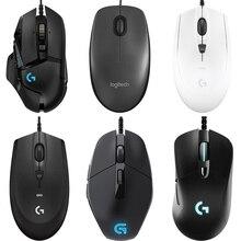 Logitech ratón programable para videojuegos G502/M90/G102/G403/G402/G302/MX518/G300S Hero, ratón para juegos RGB de 16000DPI, ratón de trabajo de oficina para PC