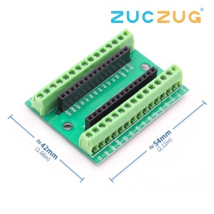 Image 1 - NANO V3.0 3.0 Controller Terminal Adapter Expansion Board NANO IO Shield Simple Extension Plate For Arduino AVR ATMEGA328P