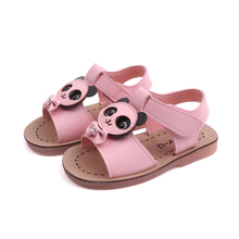 Little Girl Shoes Cute Cartoon Kids Sandals Baby Toddler Outdoor Open Toe Princess For Summer