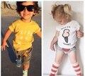 SY093 3 cores escolher 2017 T-shirt do verão roupas crianças roupas menino roupas da família das crianças desgaste roupas de menina venda quente