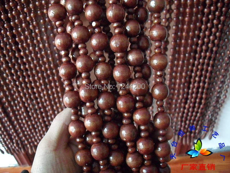 wooden bead curtains Picture - More Detailed Picture about Faraway ...