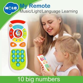 HOLA 3113 bebek oyuncakları Elektrik Tıklayın & Saymak Uzaktan ile Işık ve Müzik Çocuk Erken Öğrenme Eğitici Oyuncaklar için Toddler Hediye