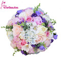 Artificial Wedding Flowers Wedding Bouquets For Brides Outside Wedding Brooch Bridal Bouquets Three Sizes Buque de noiva