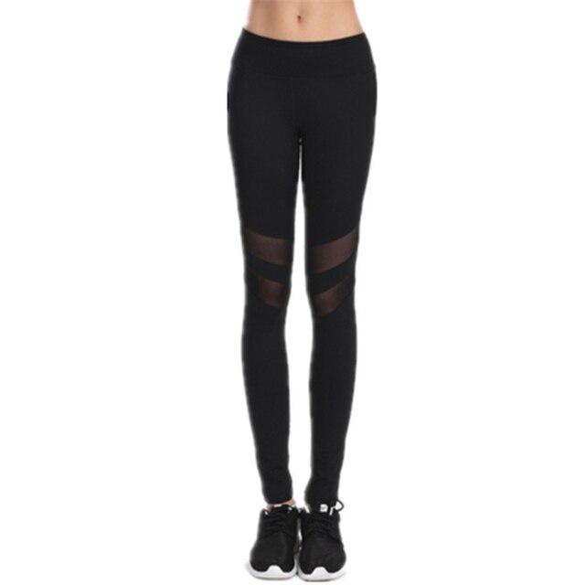 Spring Black Woman Fashion Leggings Ankle-Length Mid Waist Polyester Solid Legging Push Up Hips Breathable Slim Leggings Women