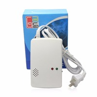 Wall Mounted Alarm Combustible Gas Detector Liquefied Gas Leak Detection Alarm Home Security Alarm System Fire