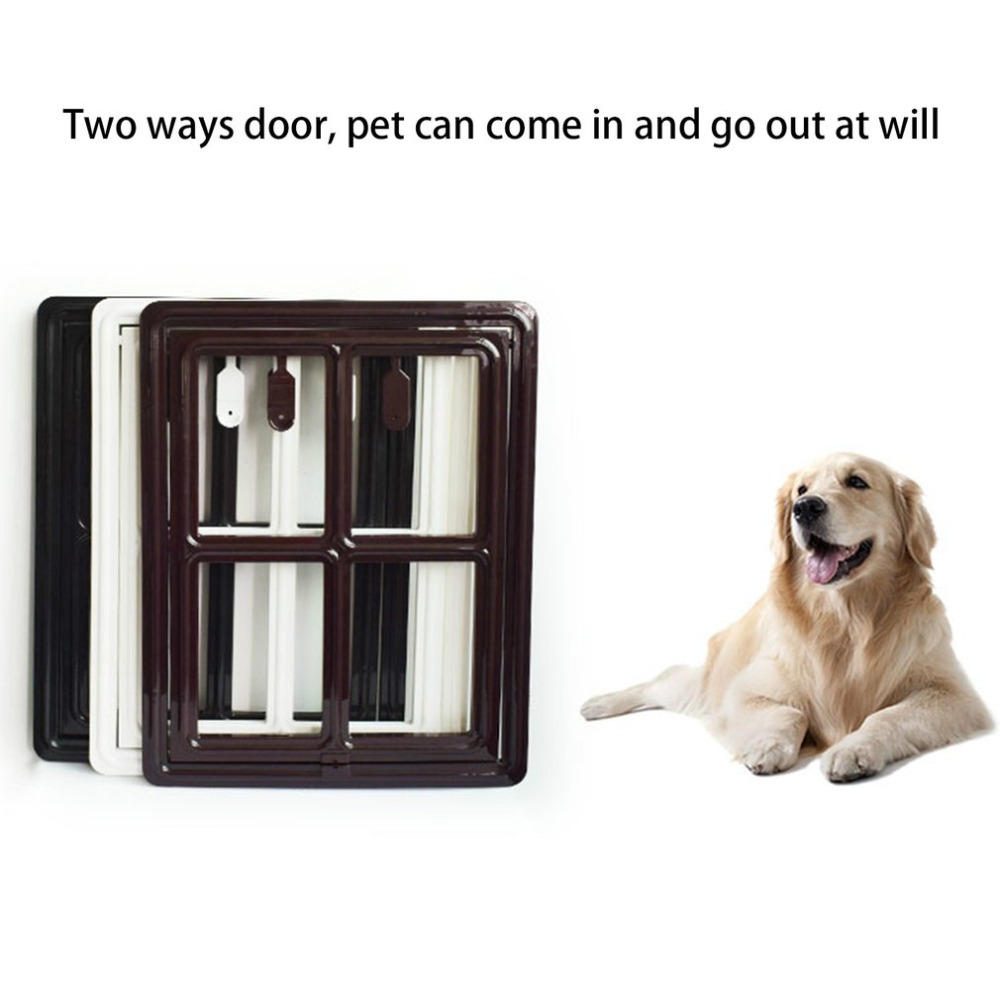 Hot Sale Easy Installation Pet Door For Screen Safe Magnetic Hanging