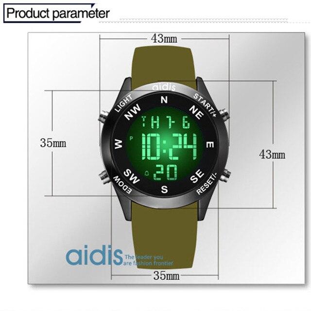 Brand Men's fashion casual sports watches waterproof  LED Digital electronic silicone watch men kids clock relogio masculino