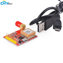 165dBm USB UART Converter GPS Module Expansion Board with USB Cable for Raspberry Pi Model A B A+ B+ Zero 2 3