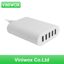 New 5V USB Adapter 5 Ports Wall Charger for US EU AU UK Plug For iPhone Samsung Sony LG Smartphone Tablets Charge Power Sockets
