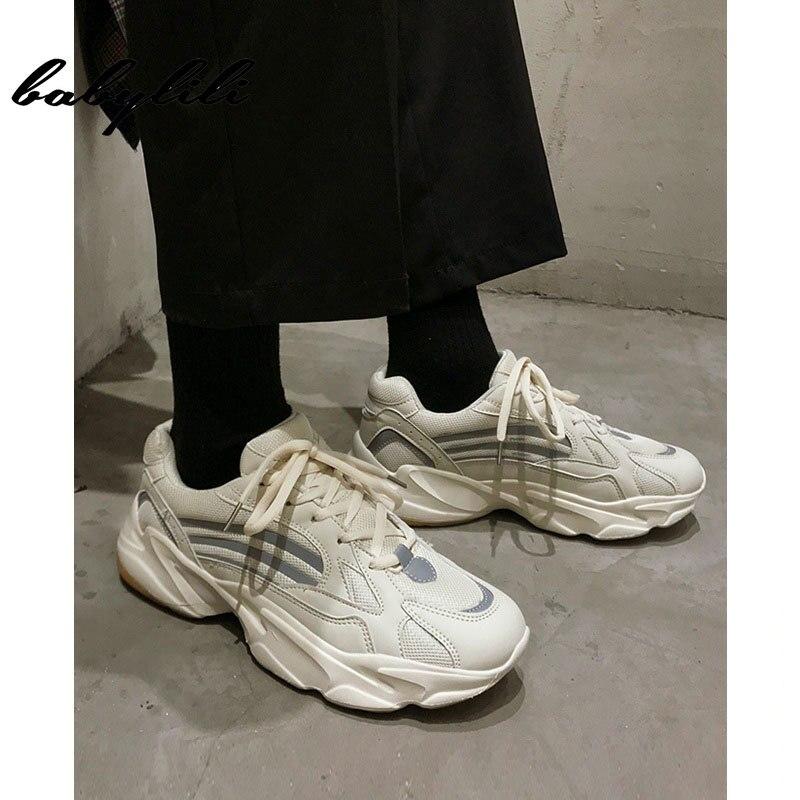2019 nouveau unisexe Vintage papa hommes Joker chaussures kanye mode west mesh léger respirant hommes chaussures décontractées sneakers zapatos hombre