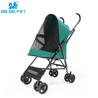 small Portable pet cart trailers jogger kinderwagen poussette pour chien dog cat trolley Teddy trolley light weight