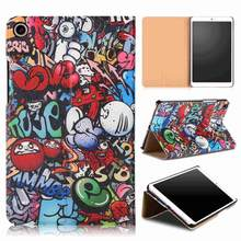 "PU Leather Cover Case For Xiaomi Mi Pad 4 MiPad4 8 inch Tablet Protective Smart Case for xiaomi Mi Pad4 Mipad 4 8.0"" case cover(China)"