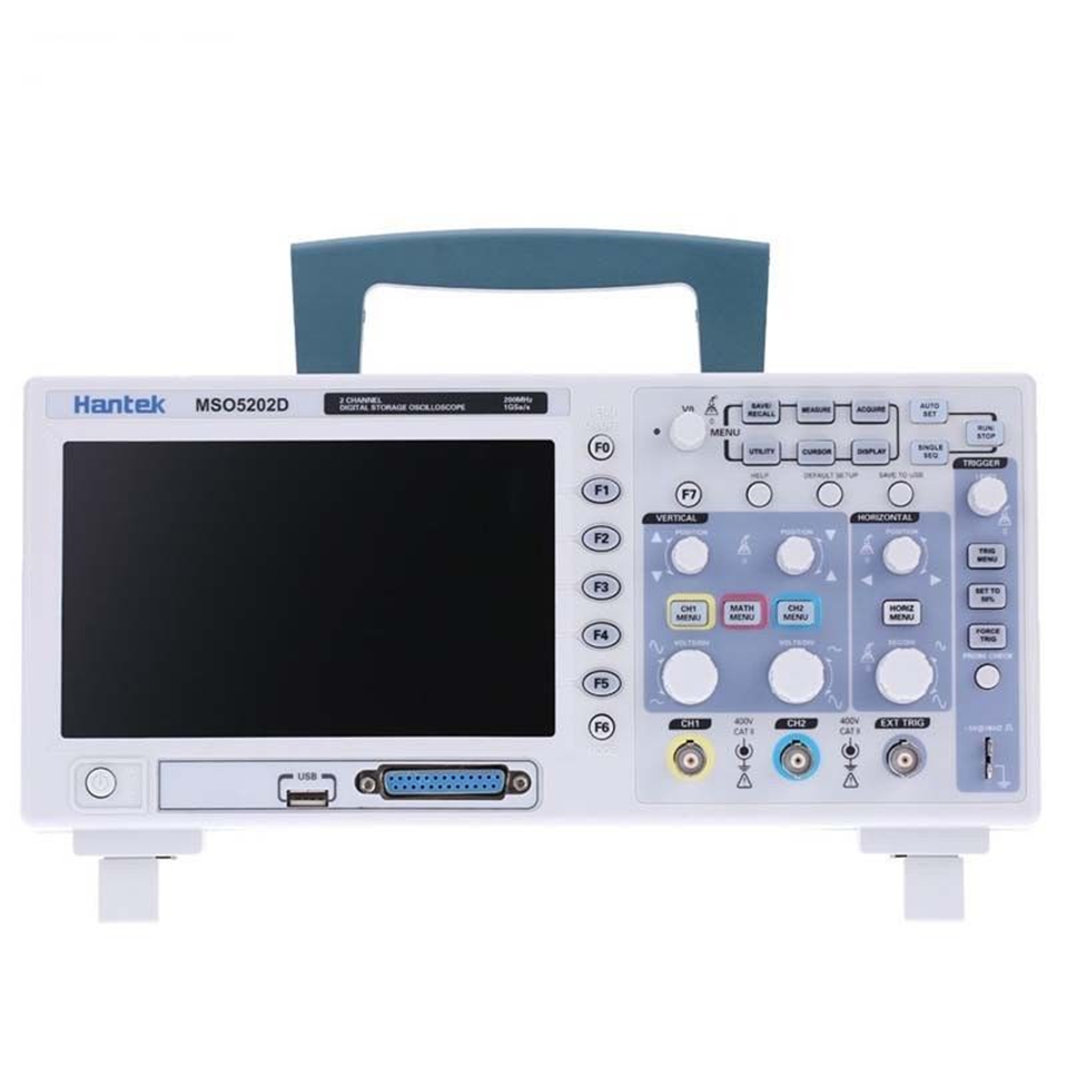 Hantek MSO5062D MSO5102D MSO5202D 2Channels 1GSa/s Oscilloscope & 16Channels Logic Analyzer 2in1 USB Free Ship осциллограф dhl hantek mso5102d 100 1gs s 16 2