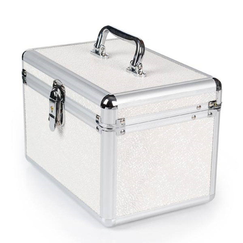 New Princess Style Makeup Storage Box Bag Jewelry Box Container Girl Travel Cosmetic Makeup Organizer organizador de maquiagem-in Storage Boxes & Bins from Home & Garden    1