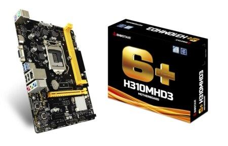 BIOSTAR H310MHD3 motherboard Intel H310/LGA 1151BIOSTAR H310MHD3 motherboard Intel H310/LGA 1151