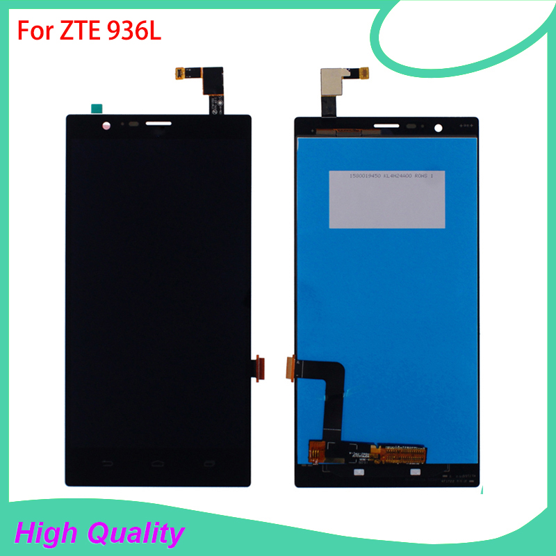 LCD Display Touch Screen For ZTE 936L Lever LTE Z936L High Quality Mobile Phone LCDs 100% Tested Free ShippingLCD Display Touch Screen For ZTE 936L Lever LTE Z936L High Quality Mobile Phone LCDs 100% Tested Free Shipping