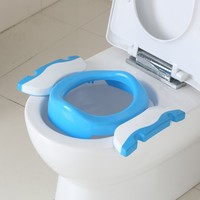 Kids Trainers Potties Pot Toilet Seat Comfortable Plastic Chamber Potty Travel Folding Chair Portable Baby Children